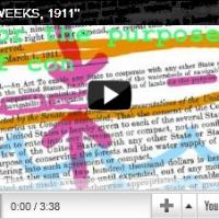 """Video: """"John Weeks, 1911"""""""