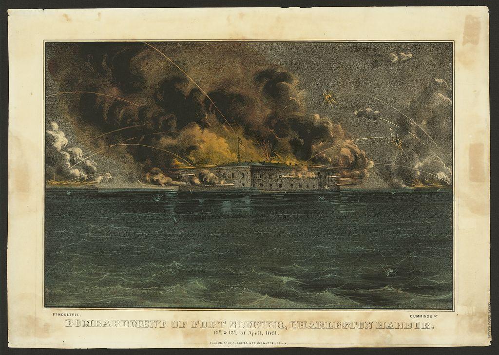 1861-Sumter-Currier&Ives-19520v