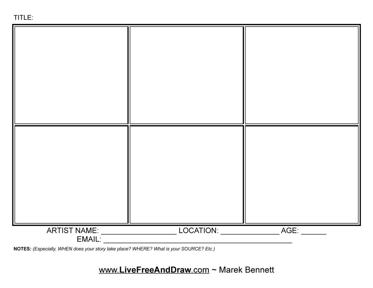 Blank comic strip comic strip template panels