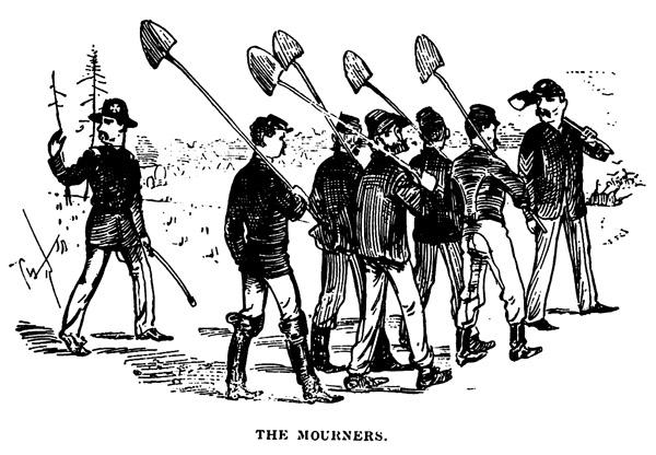 Company B Fall in for Dinner (Jones, June 13th 1862, #2