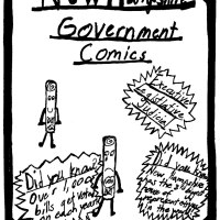 NH Government Comics by Mrs. Adams' 4th Grade